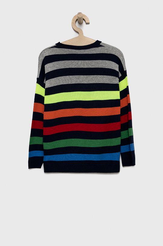 United Colors of Benetton - Detský sveter sivá