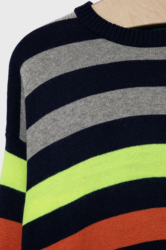 United Colors of Benetton - Detský sveter  53% Akryl, 19% Bavlna, 9% Vlna, 19% Viskóza