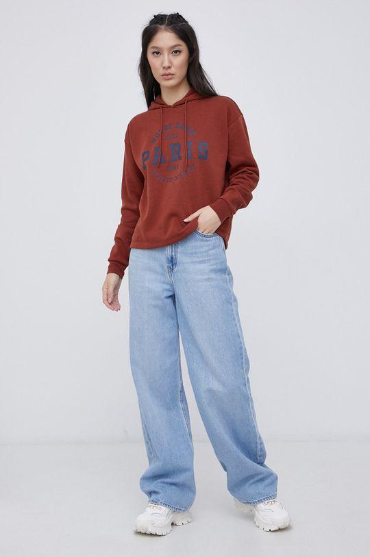 Only - Bluza brązowy