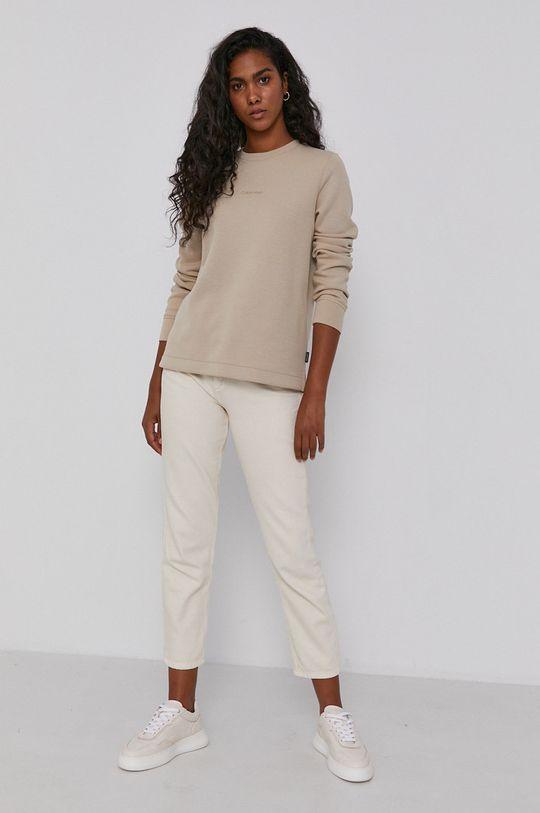 Calvin Klein - Bluza jasny szary