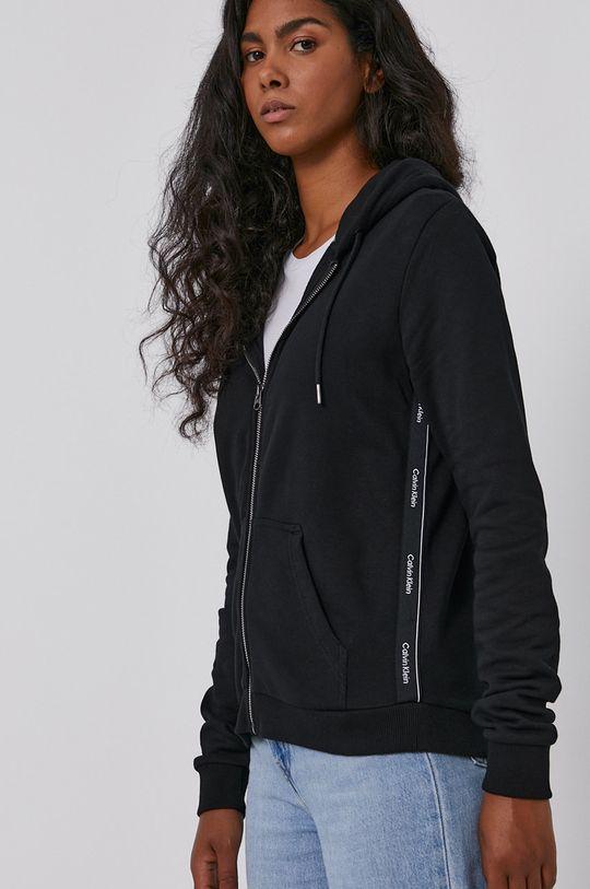 černá Calvin Klein - Bavlněná mikina Dámský