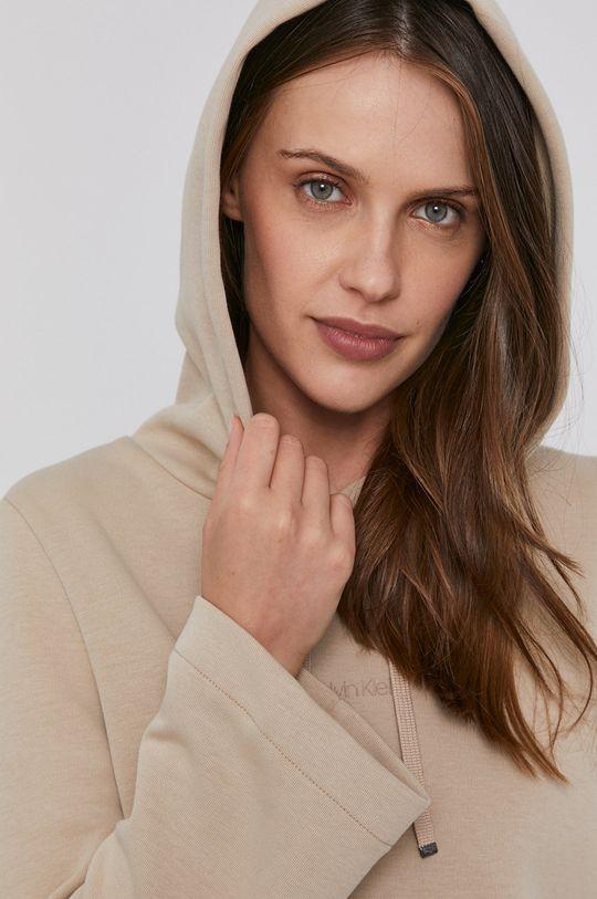 béžová Calvin Klein - Mikina