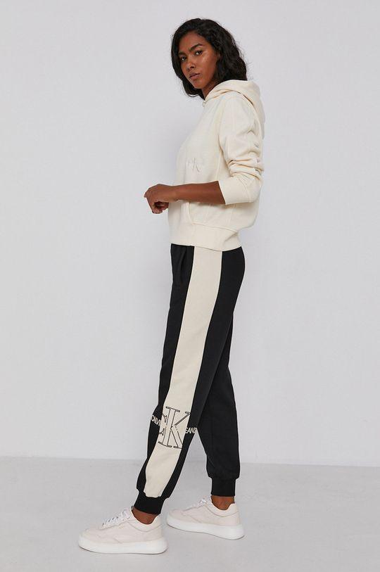 Calvin Klein Jeans - Bluza kremowy