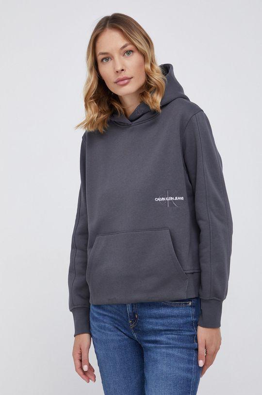 szary Calvin Klein Jeans - Bluza Damski