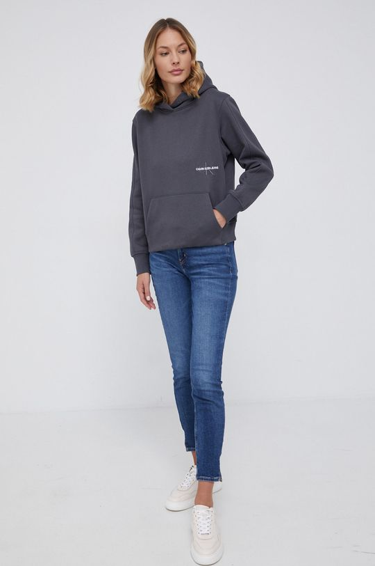 Calvin Klein Jeans - Bluza szary