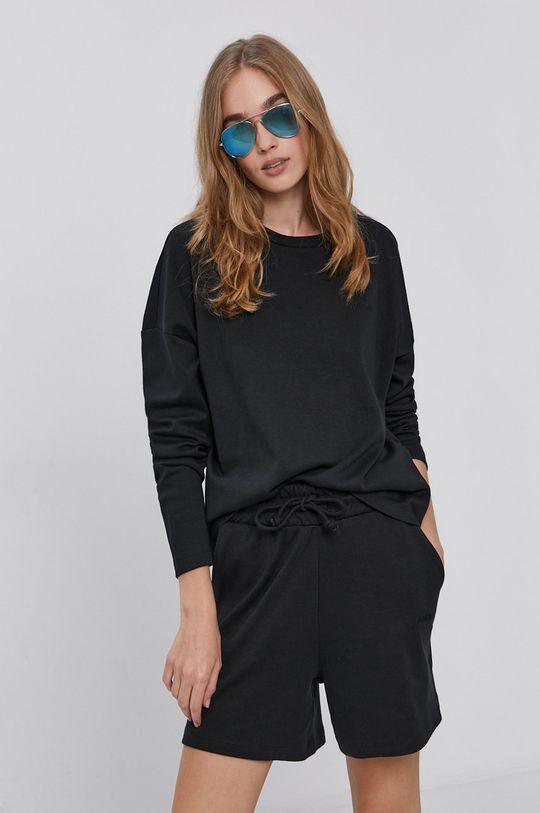černá Vero Moda - Bavlněná mikina Dámský