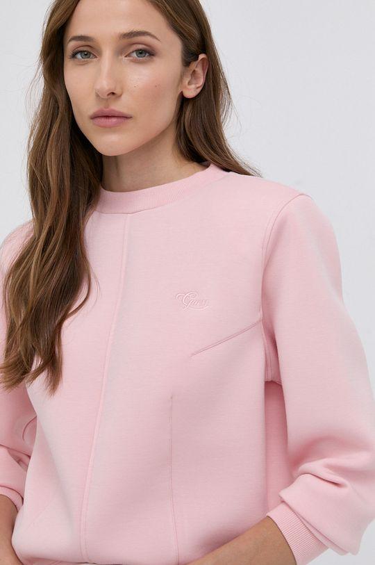 ostry różowy Guess - Bluza