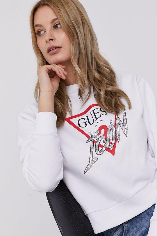 biela Guess - Mikina Dámsky