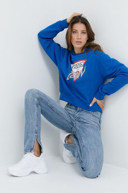 Guess - Bluza niebieski