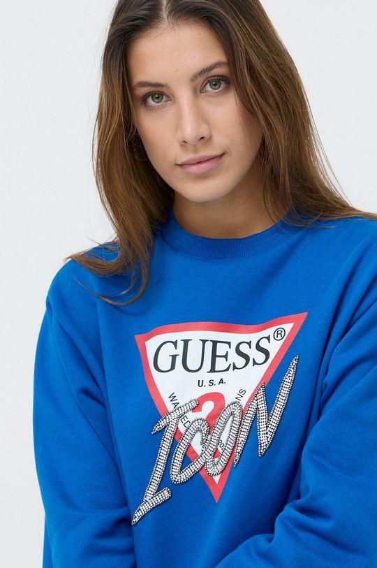 niebieski Guess - Bluza