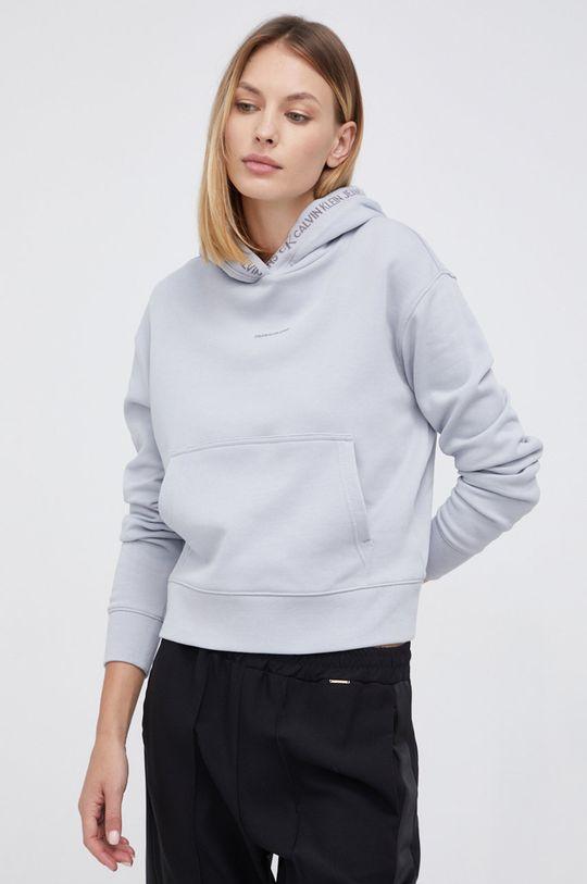 Calvin Klein Jeans - Bluza jasny szary