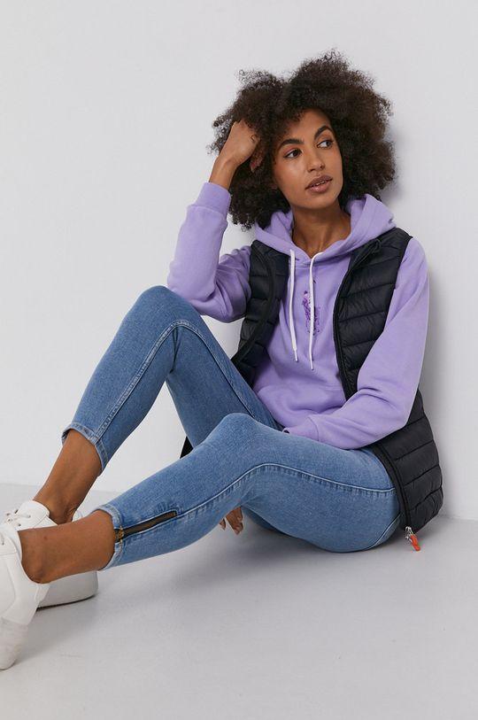 Polo Ralph Lauren - Bavlnená mikina purpurový