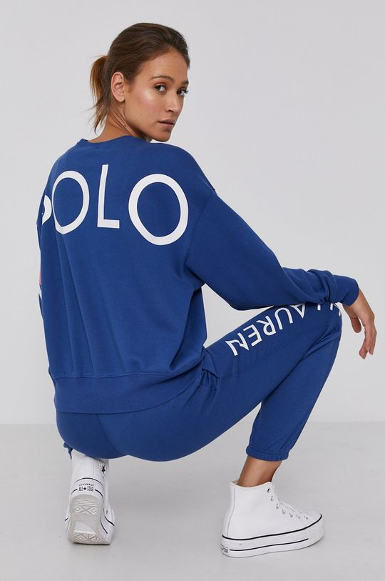 modrá Polo Ralph Lauren - Mikina Dámský
