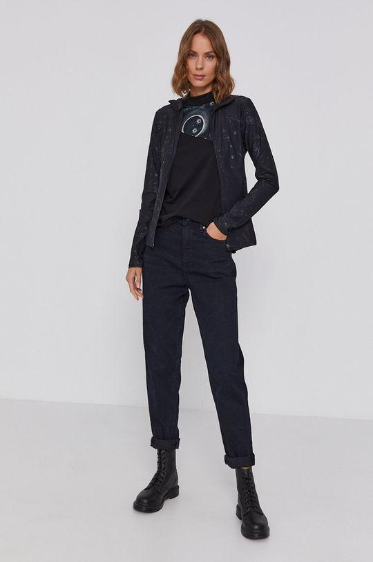 Desigual - Bluza negru