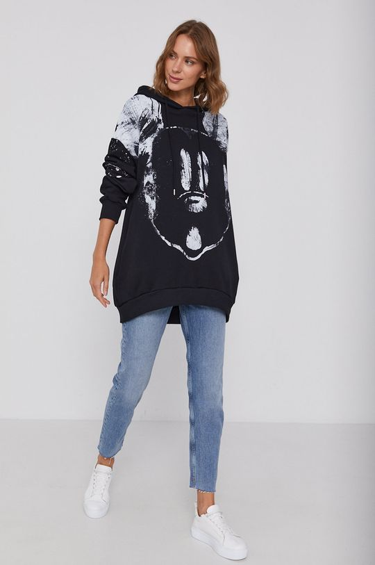 negru Desigual - Bluza X Disney De femei