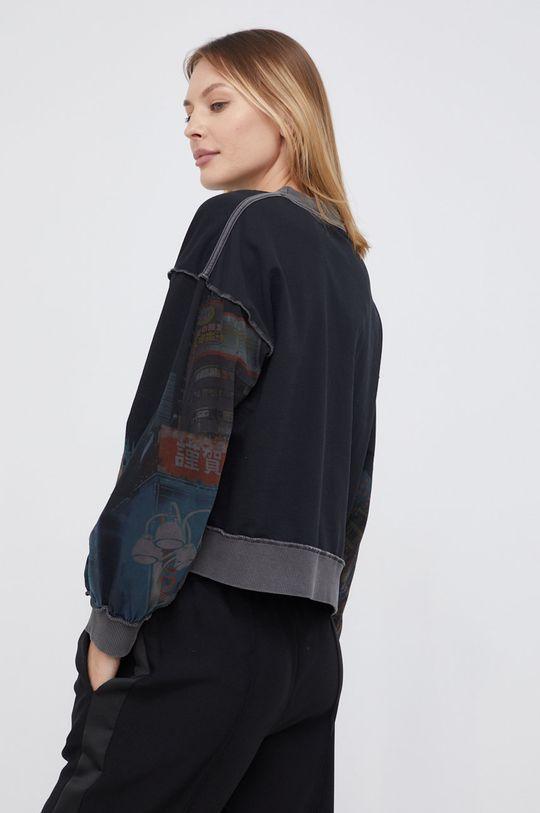 Desigual - Bluza bawełniana 100 % Bawełna