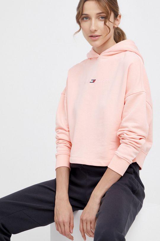 różowy Tommy Hilfiger - Bluza