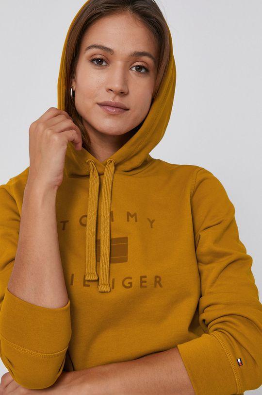 pomarańczowy Tommy Hilfiger - Bluza bawełniana