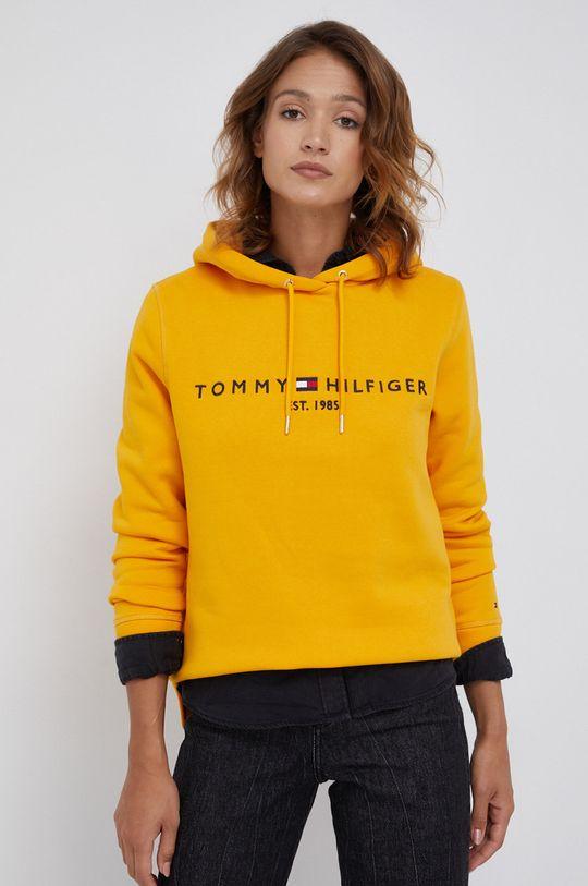 oranžová Tommy Hilfiger - Mikina Dámský