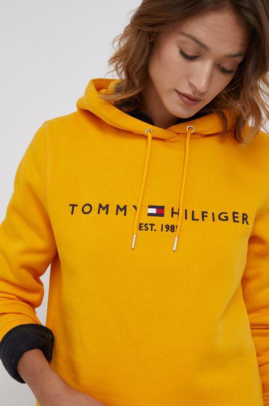 oranžová Tommy Hilfiger - Mikina