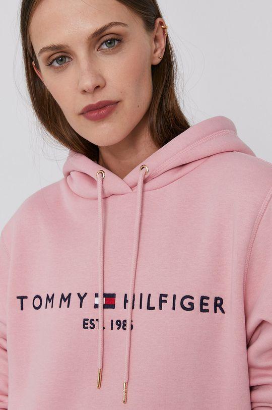 růžová Tommy Hilfiger - Mikina