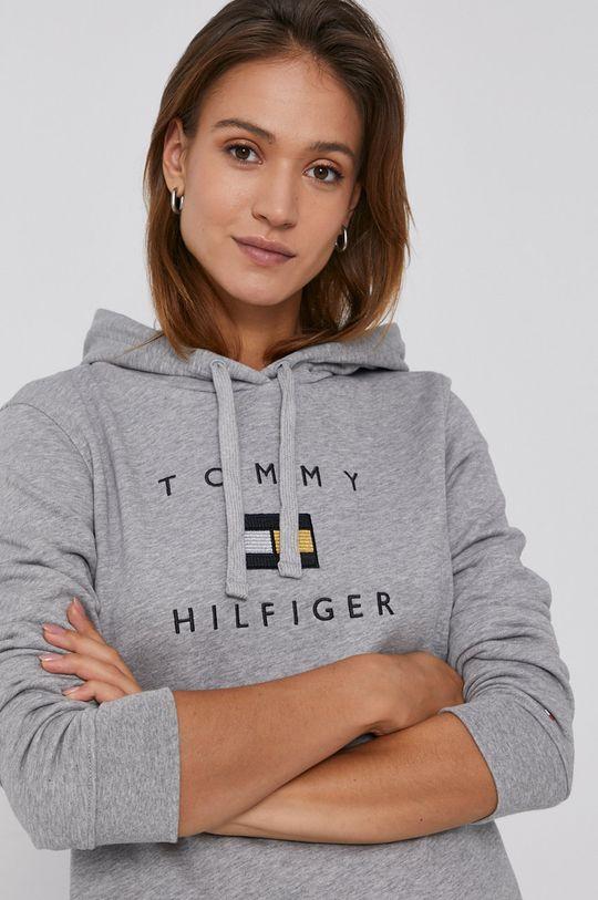 jasny szary Tommy Hilfiger - Bluza bawełniana
