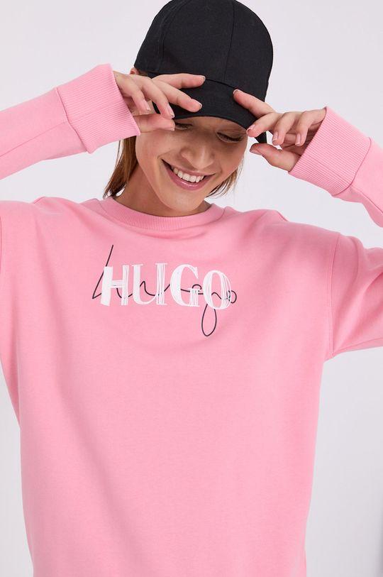 ružová Hugo - Mikina