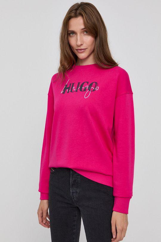 ostry różowy Hugo - Bluza Damski