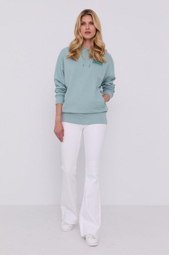Hugo - Bluza bawełniana zielony