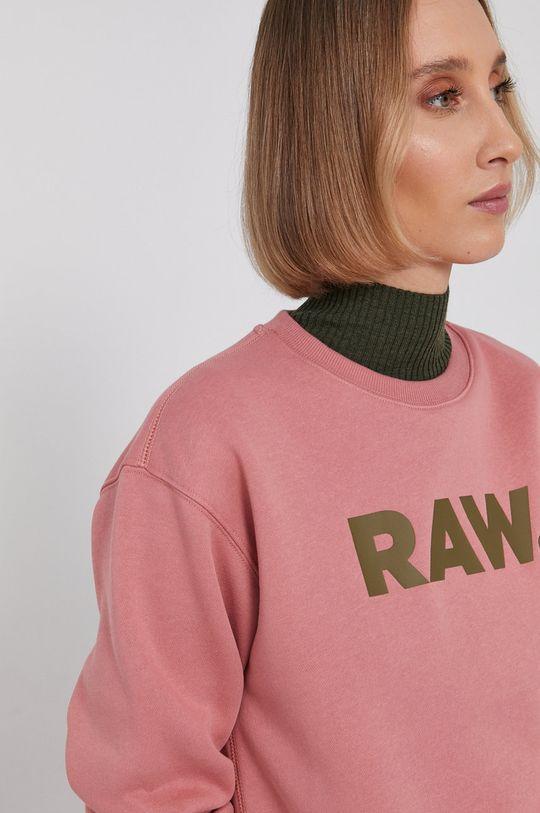 růžová G-Star Raw - Mikina