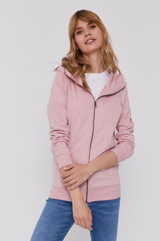 różowy Pepe Jeans - Bluza Anne Damski