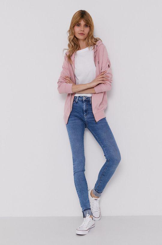 Pepe Jeans - Bluza Anne różowy