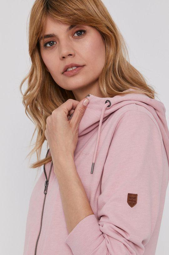 różowy Pepe Jeans - Bluza Anne