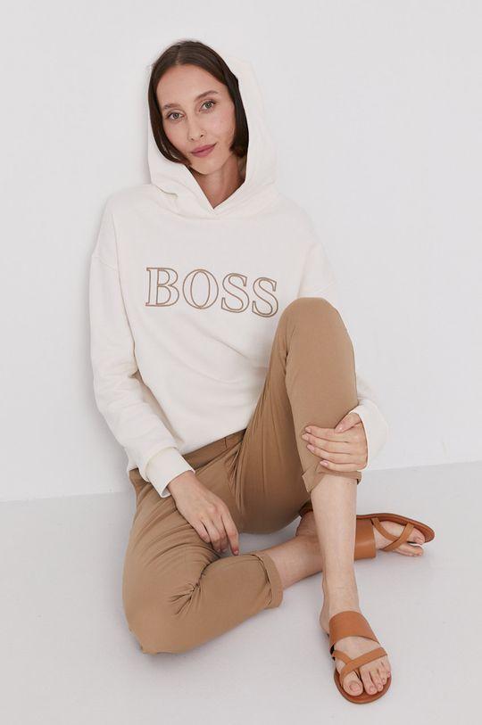 kremowy Boss - Bluza Damski