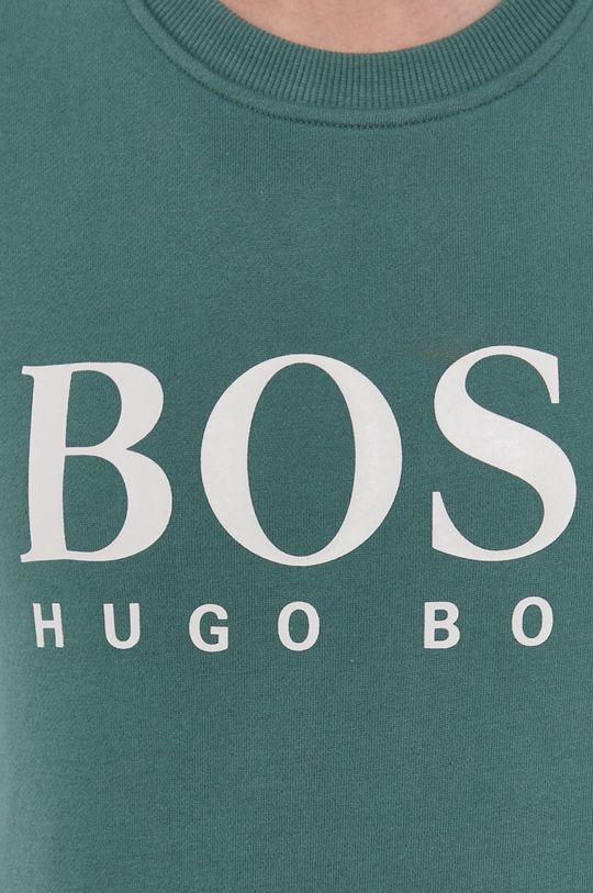 Boss - Bluza bawełniana Damski