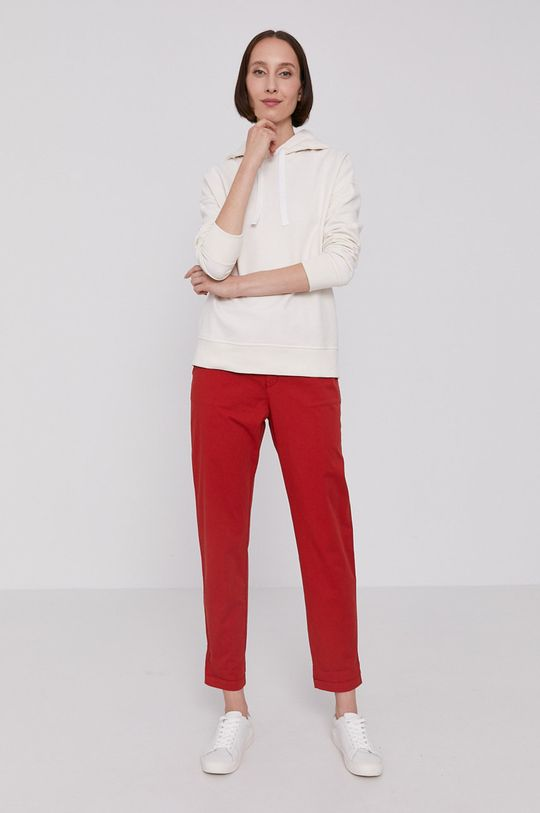 Boss - Bluza kremowy