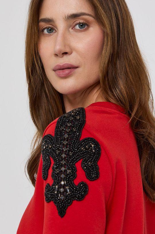 červená Patrizia Pepe - Mikina