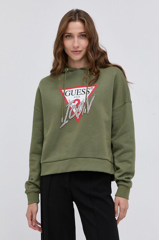 verde inchis Guess - Bluza De femei