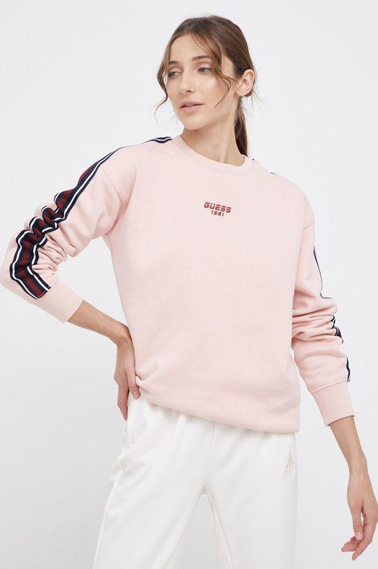 różowy Guess - Bluza Damski
