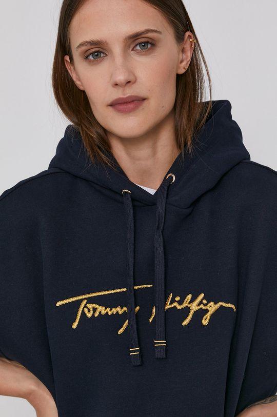 námořnická modř Tommy Hilfiger - Bavlněná mikina