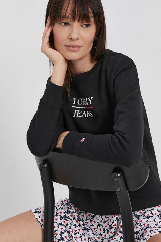czarny Tommy Jeans - Bluza Damski