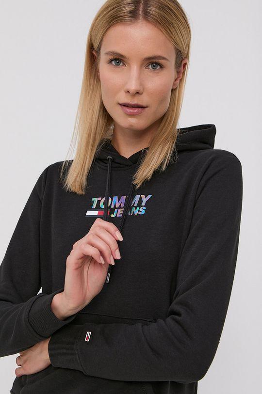 černá Tommy Jeans - Mikina Dámský
