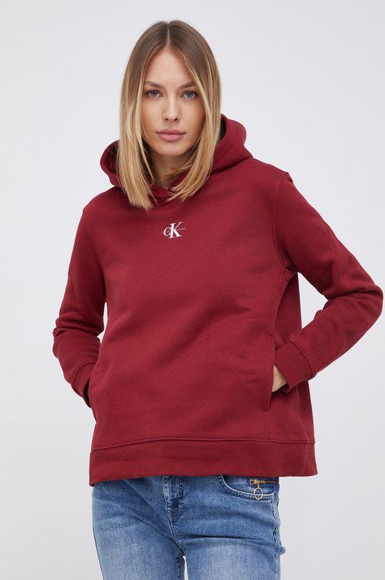 kasztanowy Calvin Klein Jeans - Bluza Damski