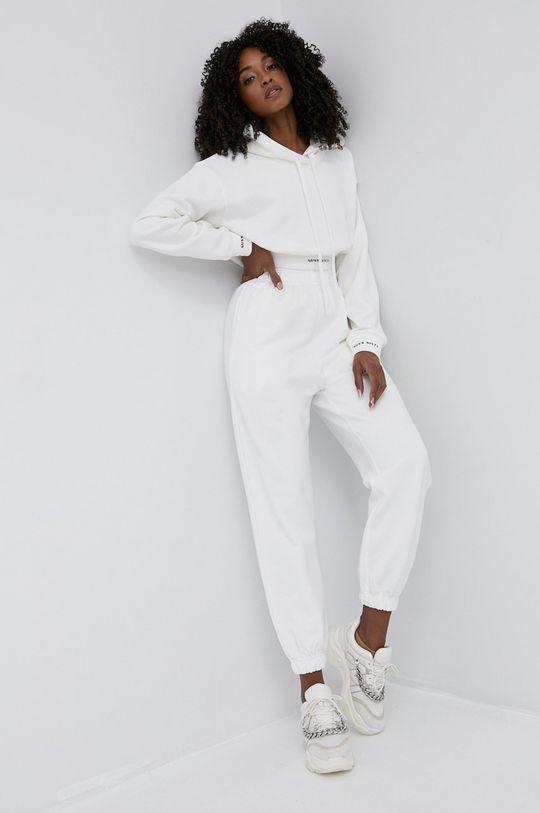 Miss Sixty - Bavlněná mikina bílá