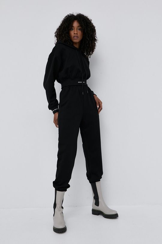 Miss Sixty - Bavlněná mikina černá