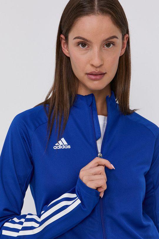 modrá adidas Performance - Mikina Dámský