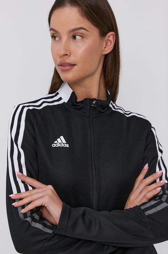 černá adidas Performance - Mikina Dámský