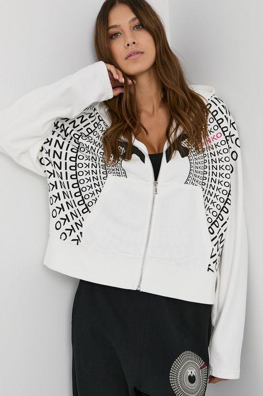biały Pinko - Bluza bawełniana Damski
