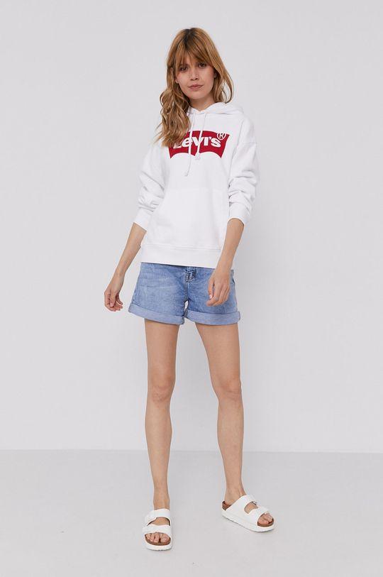 Levi's - Bluza bawełniana biały