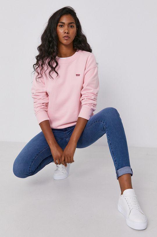 Levi's - Bluza różowy